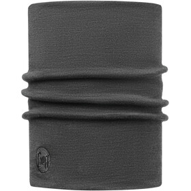Buff Heavyweight Merino Wool Pañuelos & Co para el cuello, solid grey